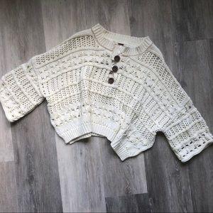 Free People Sweaters - Free People - Dreams Tonight sweater, NWOT, S